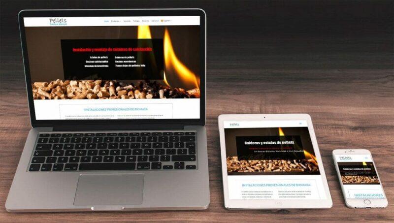 Diseño de PelletsBaztanBidasoa.com