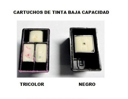 Cartuchos de tinta Normal