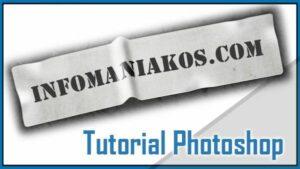 Diseño Photoshop - Crear un cartel con texto etiquetado