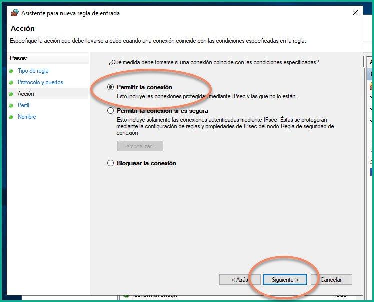Abrir puertos en firewall Windows 10 (10)