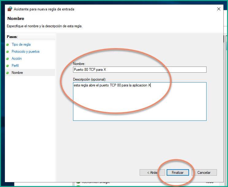 Abrir puertos en firewall Windows 10 (12)