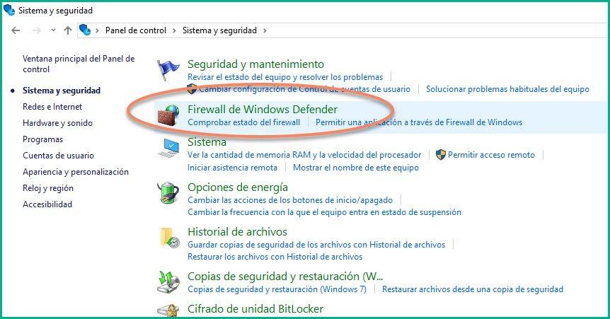 Abrir puertos en firewall Windows 10 (4)