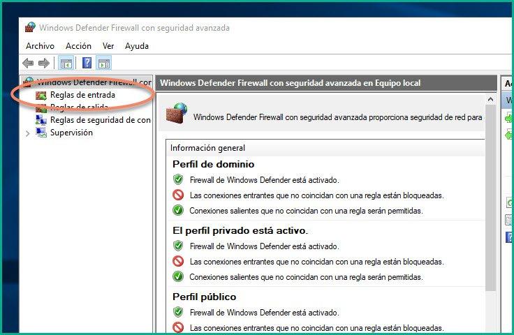Abrir puertos en firewall Windows 10 (6)