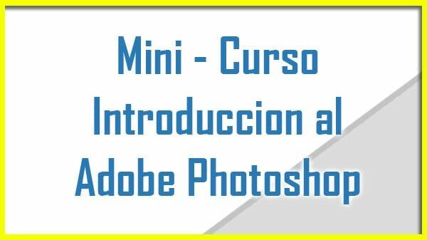 Curso de adobe photoshop gratis