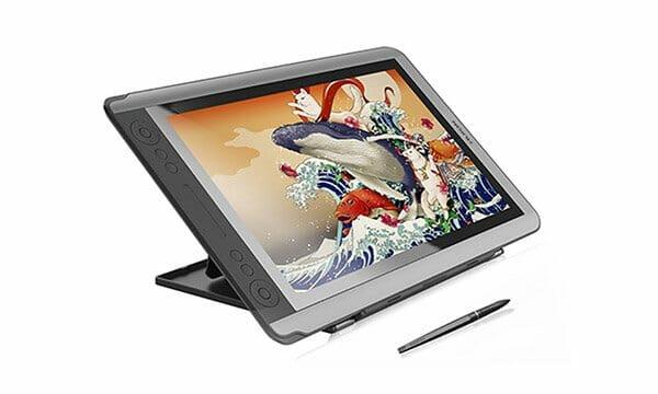 tableta grafica con pantalla