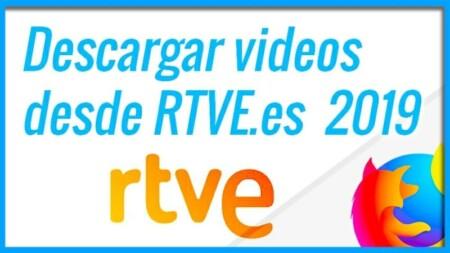 Descargar videos desde RTVE es con Firefox