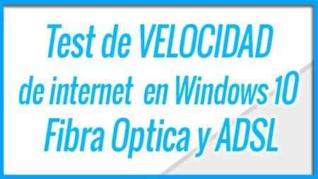 Como hacer un Test de VELOCIDAD de tu internet con Fibra optica