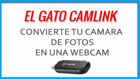 Convertir una camara de fotos en WebCam con El Gato CAMLINK - 2020