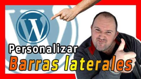 Como poner BARRA PERSONALIZADAS en Paginas de WordPress 2021