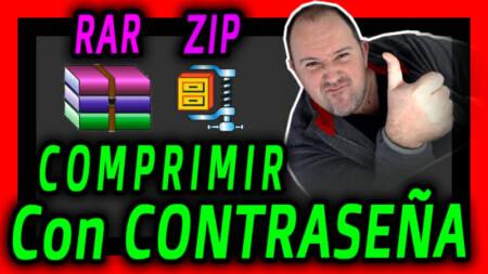Todo sobre COMPRIMIR y DESCOMPRIMR ZIP y RAR - Como Poner CONTRASEÑA - 2021